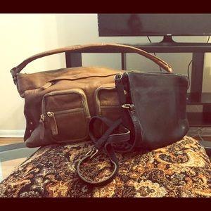 OFFERS??? Vintage coach crossbody +FREE J.crew bag